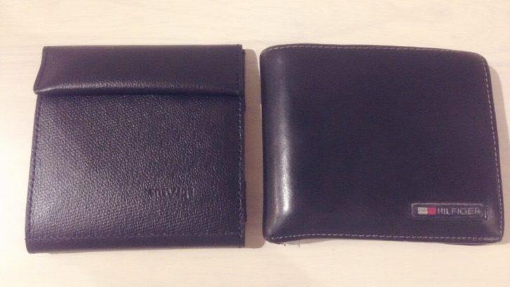 薄い財布と普通の財布を比較