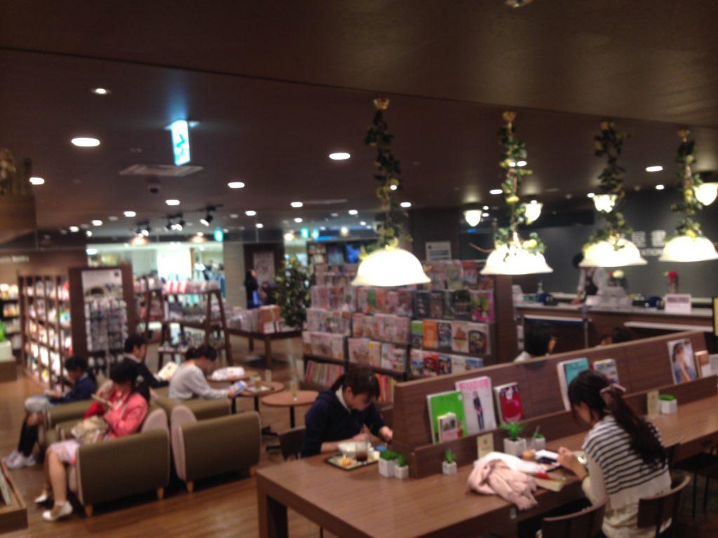 未来屋書店店内