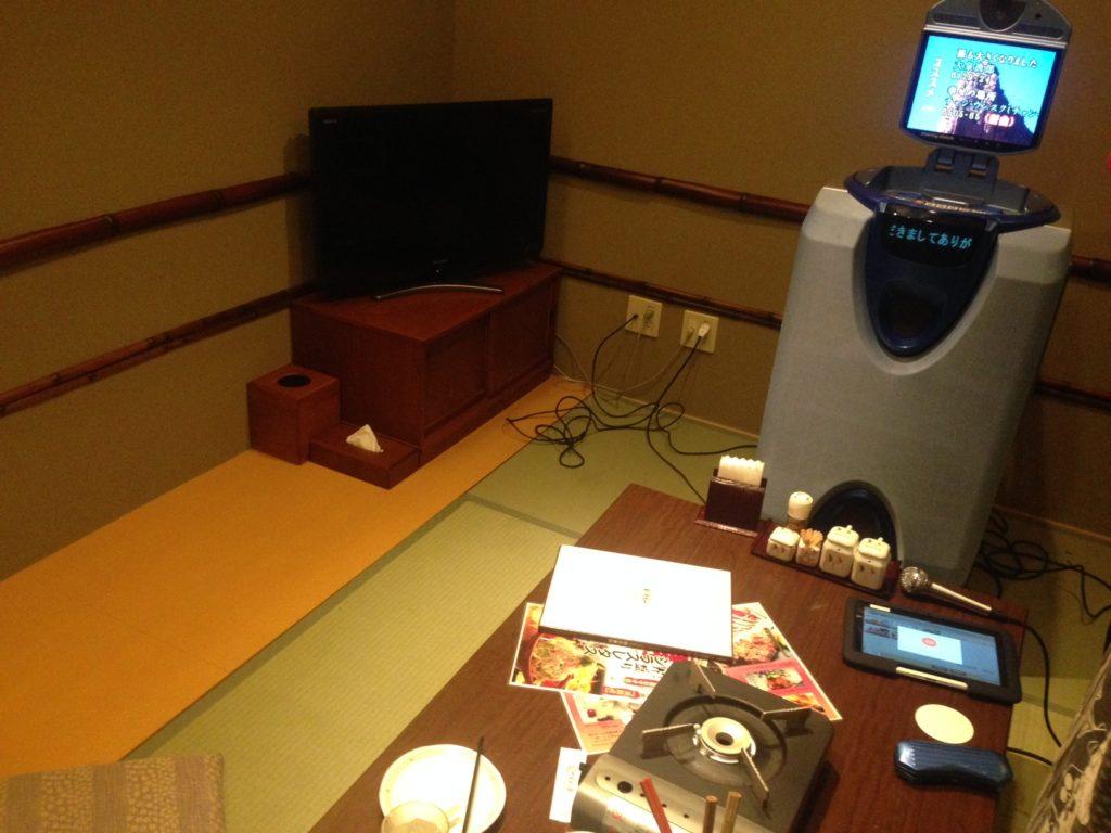 神戸ハーバーランド温泉万葉倶楽部の個室