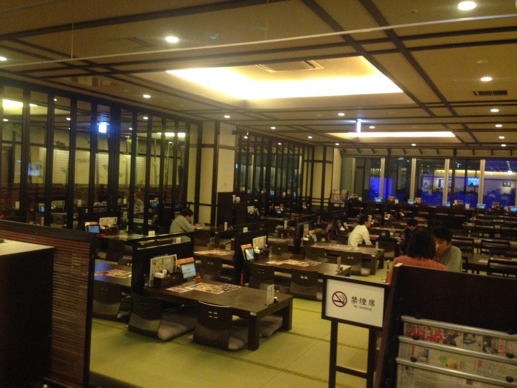 神戸ハーバーランド温泉万葉倶楽部のレストラン