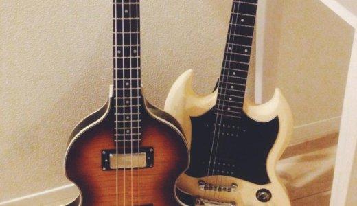 ギターとベースの違いを比較|簡単なのはどちら?