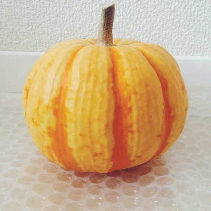 ランタンは「おもちゃかぼちゃ」で作る