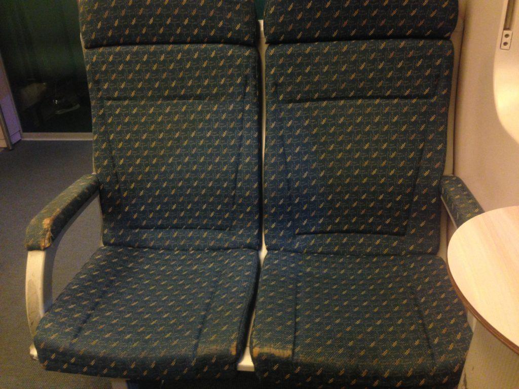 KILAエキスプレス座席