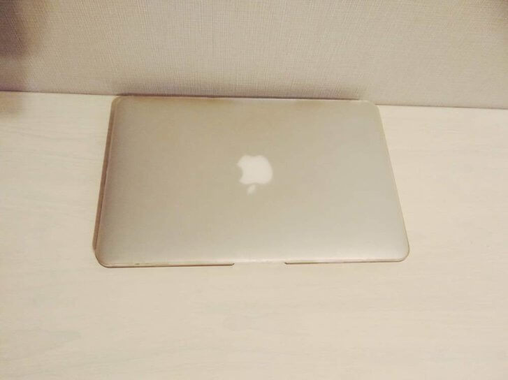 macbookair透明のケース