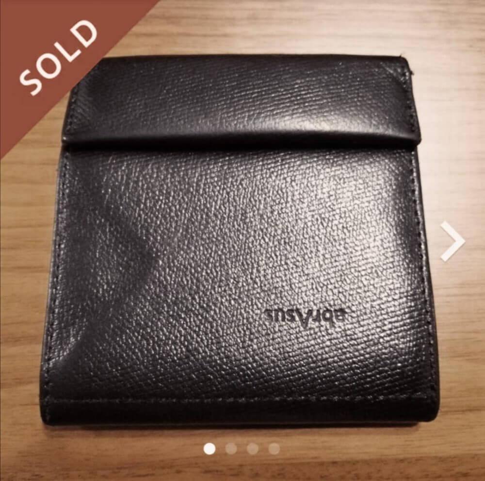 財布を持つのを辞めた